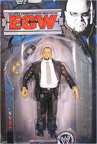 TAZZ ECW SERIES 3 WWE JAKKS WRESTLING FIGURE by Jakks Pacific