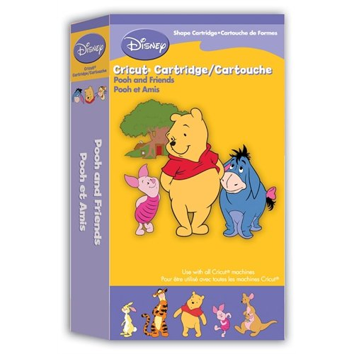 Provo Craft Cricut Disney Cartridge, Pooh and Friends