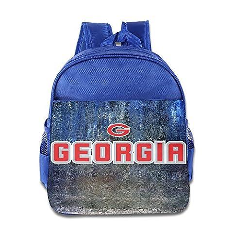 MEGGE University Of Georgia Funny Lunch Bags RoyalBlue (Georgia Justice)