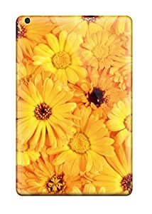 Coy Updike's Shop Best 5631069J63078586 Top Quality Rugged Yellow Flowers Case Cover For Ipad Mini 2