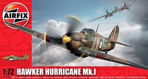 Qiyun Airfix 1010 1 72 Hawker Hurricane MK I Aircraft -