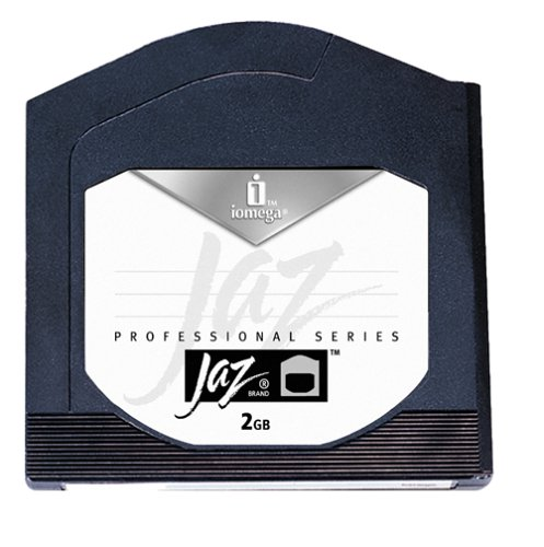 Iomega 10597 Jaz 2 GB Disks (PC Formatted, 3-Pack) (Discontinued by Manufacturer) by Iomega