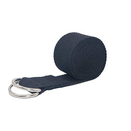 Comomingo Cinturón de Yoga Cinturón de Estiramiento Algodón ...