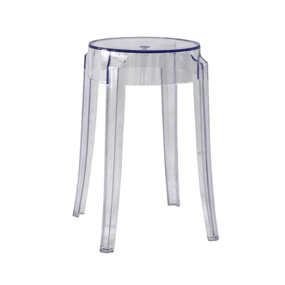 Sgabelli In Plastica Trasparente.10x18inch Ge Yobby Sgabello In Plastica Moderna Trasparente