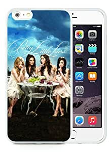 Fashionable iPhone 6 Plus/iPhone 6S Plus TPU Case ,Unique And Popular Designed Case With Pretty Little Liars Poster White iPhone 6 Plus/iPhone 6S Plus TPU Great Quality Screen Case