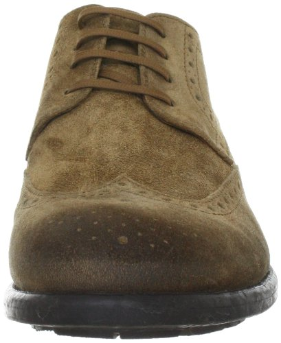 Belmondo 658900/Z 658900/Z - Zapatos casual de ante para hombre Marrón