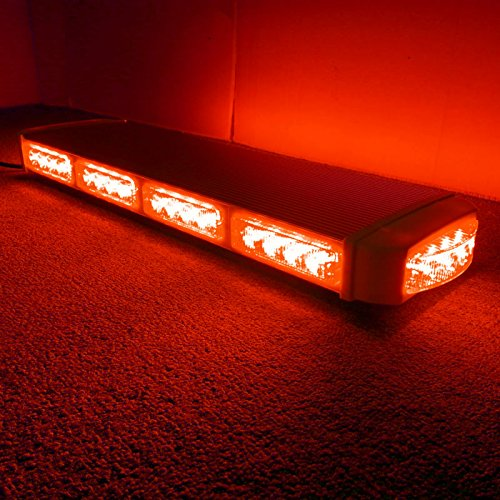 VSLED 22″40 LED Red LightBar Emergency Recovery LightBar Long Row Car Light Warning Strobe light
