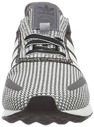 adidas Los Angeles, Unisex Adults' Trainers Grey - Grau (Granite/Off White/Core Black)