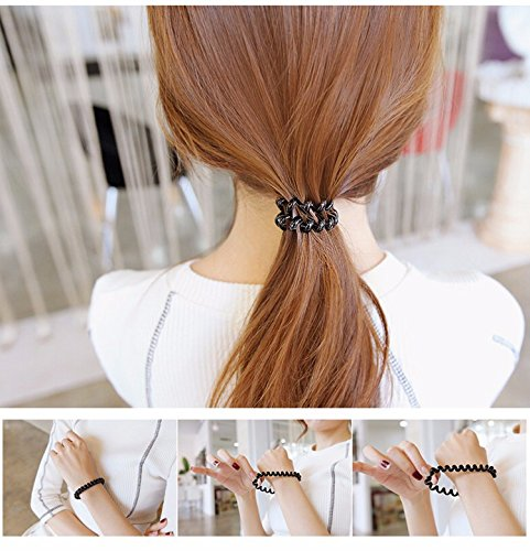 telephone wire hair tie - 7