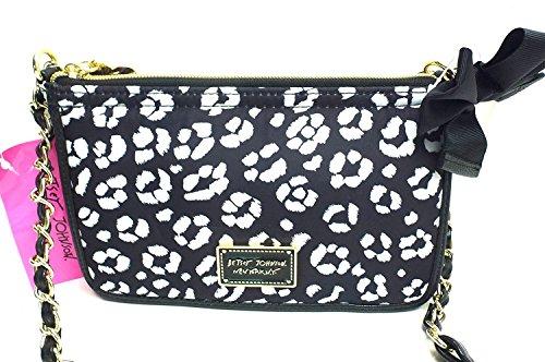 Be Bag Betsey Mine EW Leopard Crossbody Johnson gxgq5aU