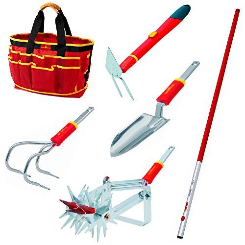 WOLF-Garten Easy Planting Gardening Tool Set - 7 pc set