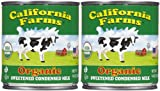 Santini Foods Organic Condensed Milk - Sweetened - 14 oz - 2 pk
