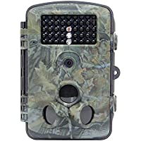 RD1000 HD Hunting Trail Camera, 12MP WIFI Wildlife Game Camera with 21.87ft 120¡ã Wide Angle Infrared Night Vision, Waterproof & Dustproof, CMOS Sensor & SD Card Function for Outdoor