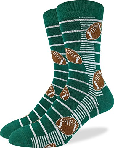 Good Luck Sock Mens Extra Large Football Socks - Shoe Size 13-17, Big & Tall