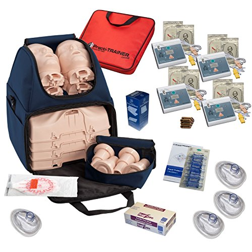 CPR Training Kit w Prestan Ultralite Manikins, WNL AED Trainers, & More by MCR Medical by MCR Medical
