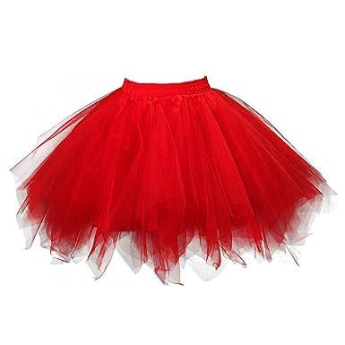 Roiper Falda de Tul para Mujer de los años 50, Falda de Ballet ...
