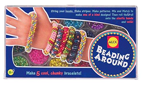 ALEX Toys Hágalo usted mismo, use abalorios alrededor de la joyería
