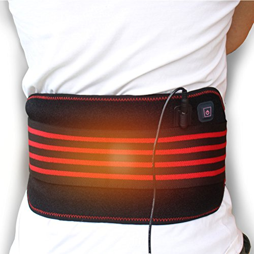 heated waist belt wrap