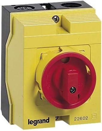 interrupteur de proximit/é 4 p/ôles 12a legrand 022662