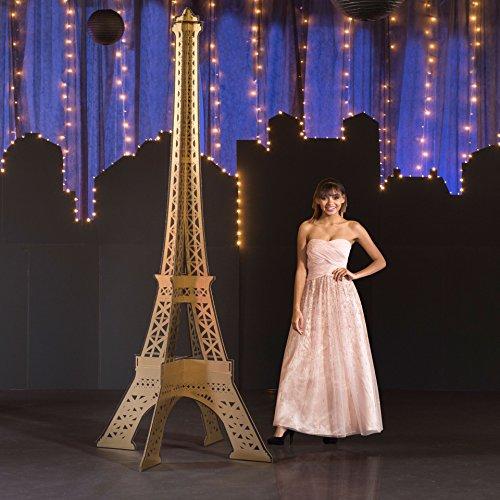 9 ft. 4 in. Paris France Parisian Chic
