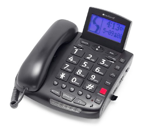 Clearsounds Amplified Phone with 50dB of Amplification (CLS-CSC600) - Clear Dial Phone