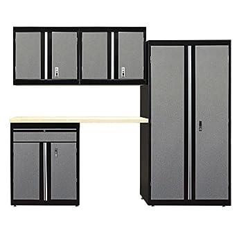 Garage Storage System >> Sandusky Lee G51c1b2w1t M9 Welded Garage Storage System Pack Of 5