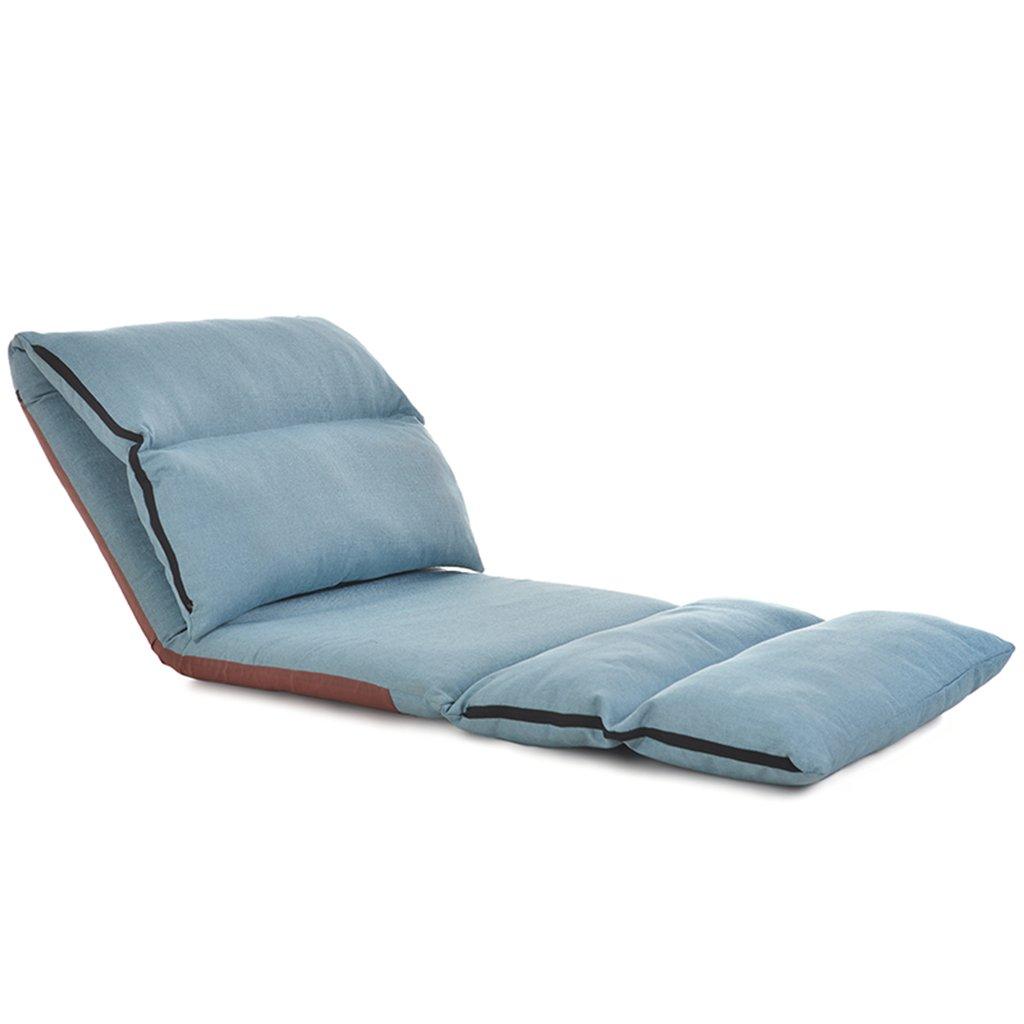 Unbekannt Nottingham Rehab Supplies Chaise de Sol Pliante Extra Large en Tissu rembourré Longueur 226 cm Bleu
