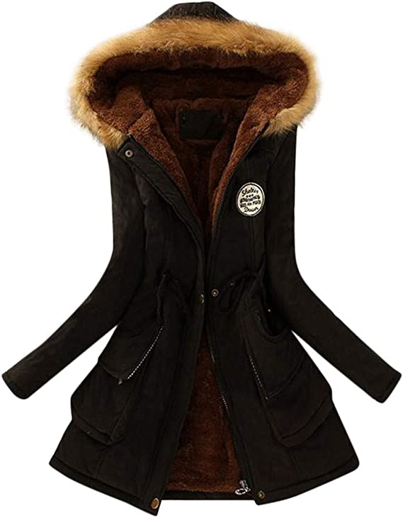 Mantel Winter Coat Warme Long Stylischer Damen Jacke Lilihot 6Ygby7f