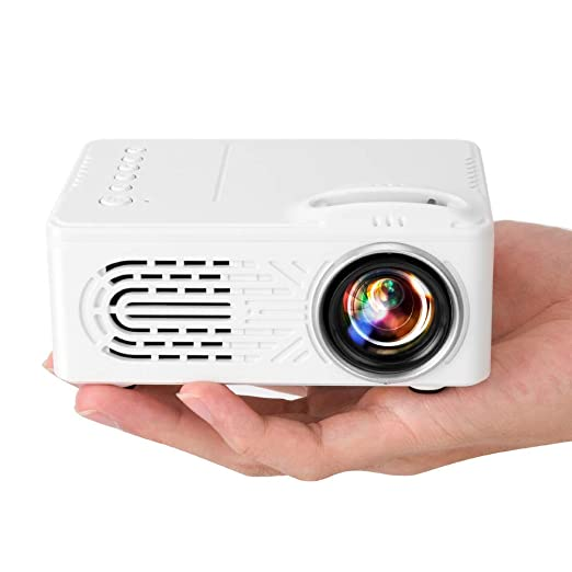 AI LIFE Mini proyector led portátil Video proyector de Cine en ...