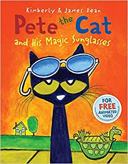 Image result for pete the cat and his magic sunglasses