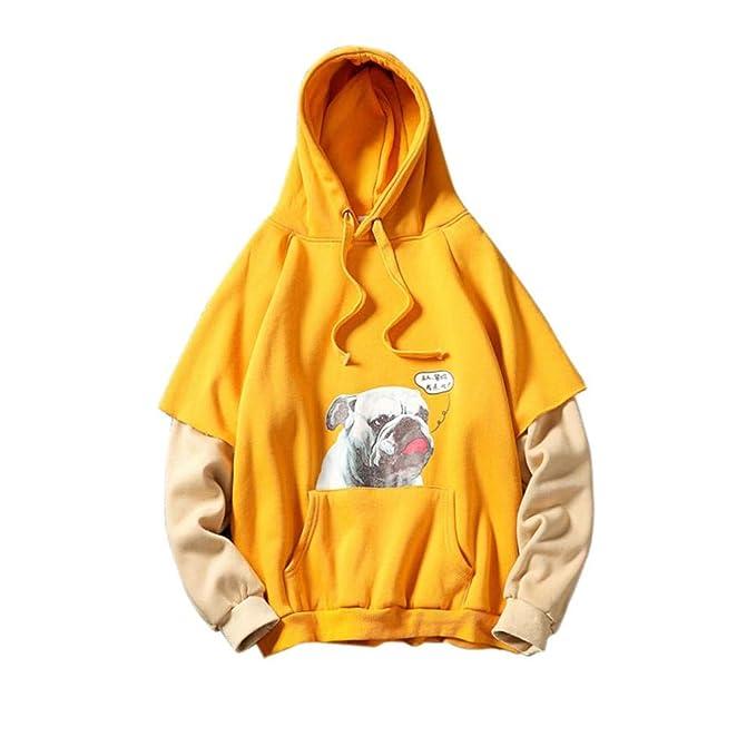 Suéter de Dos Piezas con Capucha y Falda con Capucha y Estampado de Manga Larga en