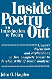 Inside Poetry Out : An Introduction to Poetry, Hayden, John O., 0882298054