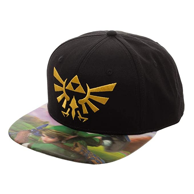 df03646a3 Bioworld The Legend of Zelda Lenticular Bill Snapback Hat
