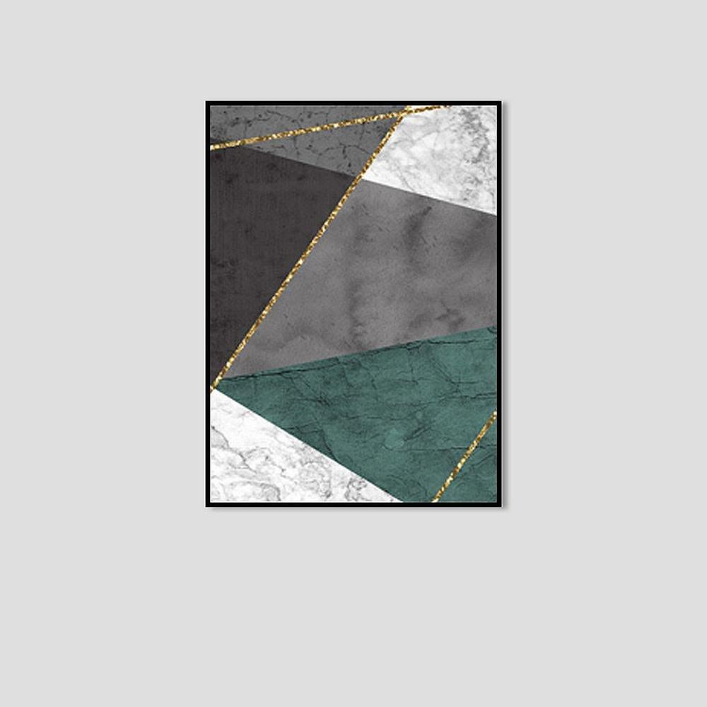 Precio al por mayor y calidad confiable. STTS Cuadro Decorativo Abstracto Gráfico Creativo Simple Simple Simple Encajonado,Segundo,50  70cm  los nuevos estilos calientes