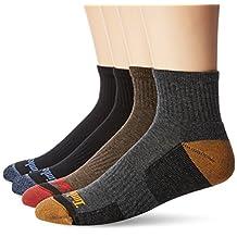 Timberland mens 4 Pack Comfort Low Quarter Sock