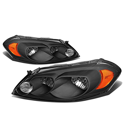 DNA Motoring HL-OH-CI06-BK-AM Headlight - Monte Grill Carlo Bar