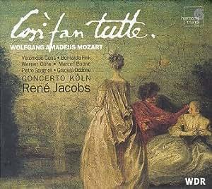 Mozart - Così fan tutte / Gens · Fink · Güra · Boone · Spagnoli · Oddone · Concerto Köln · Jacobs
