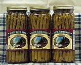 Premium Pickled Asparagus--3 jar set