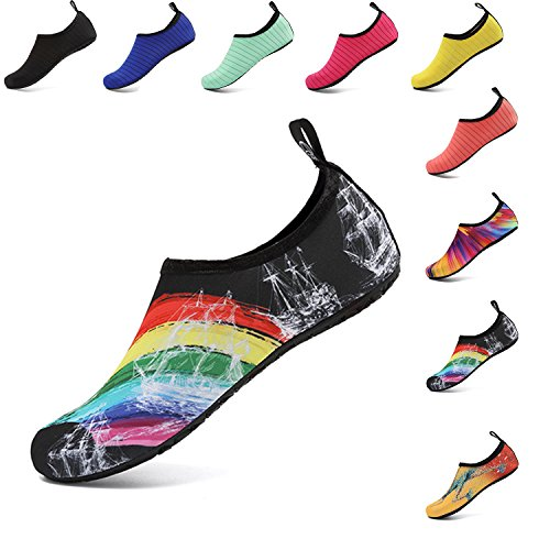OUYAJI Water Shoes Beach Swim Barefoot Shoes