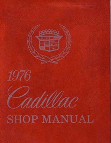 bishko automotive literature 1976 Cadillac Deville Eldorado Fleetwood Shop Service Repair Manual Book Engine