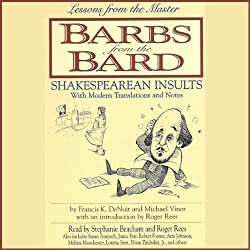 Barbs from the Bard