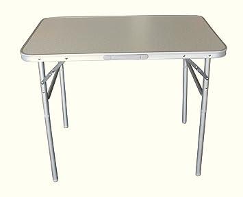 Aluminio De X Mesa 60 90 Cm RegulablePlegable Camping Altura 8nNm0w