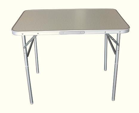 Tavolo Altezza 90.Campeggio Tavolo 90 X 60 Cm In Alluminio Regolabile In