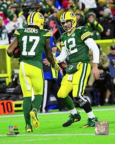Amazon Com Davante Adams Aaron Rodgers Green Bay Packers