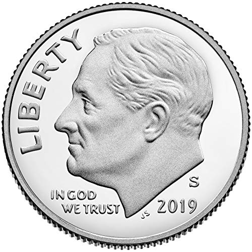 Deep Cameo Proof Roosevelt Dime - 2019 S Roosevelt Dime 2019 S Roosevelt Dime Proof Deep Cameo Dime Proof US Mint DCAM