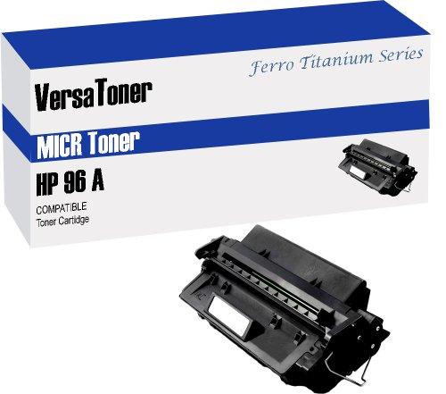 VersaToner - 96A C4096A MICR Toner Cartridge for Check Printing - Compatible with LaserJet 2100, 2200 by VersaToner