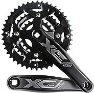 GANOPPER 9S 9speed 22 32 44T 170mm Crank Length MTB Mountain Bike Chainset 104BCD 64BCD Easy to Modify Single