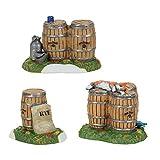 jack daniels accessories - Department 56 Jack Daniel's Village Barrels and Rye Accessory Figurine, Multicolored