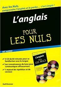 Kit Audio Anglais pour les Nuls par Gail Brenner