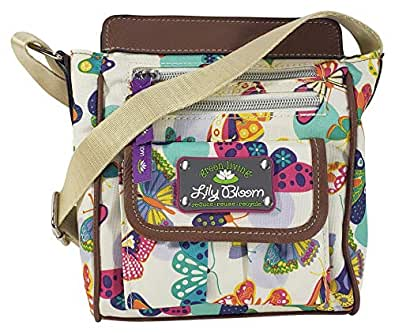 Lily Bloom Jamie Crossbody Bag (Butterfly Twister)